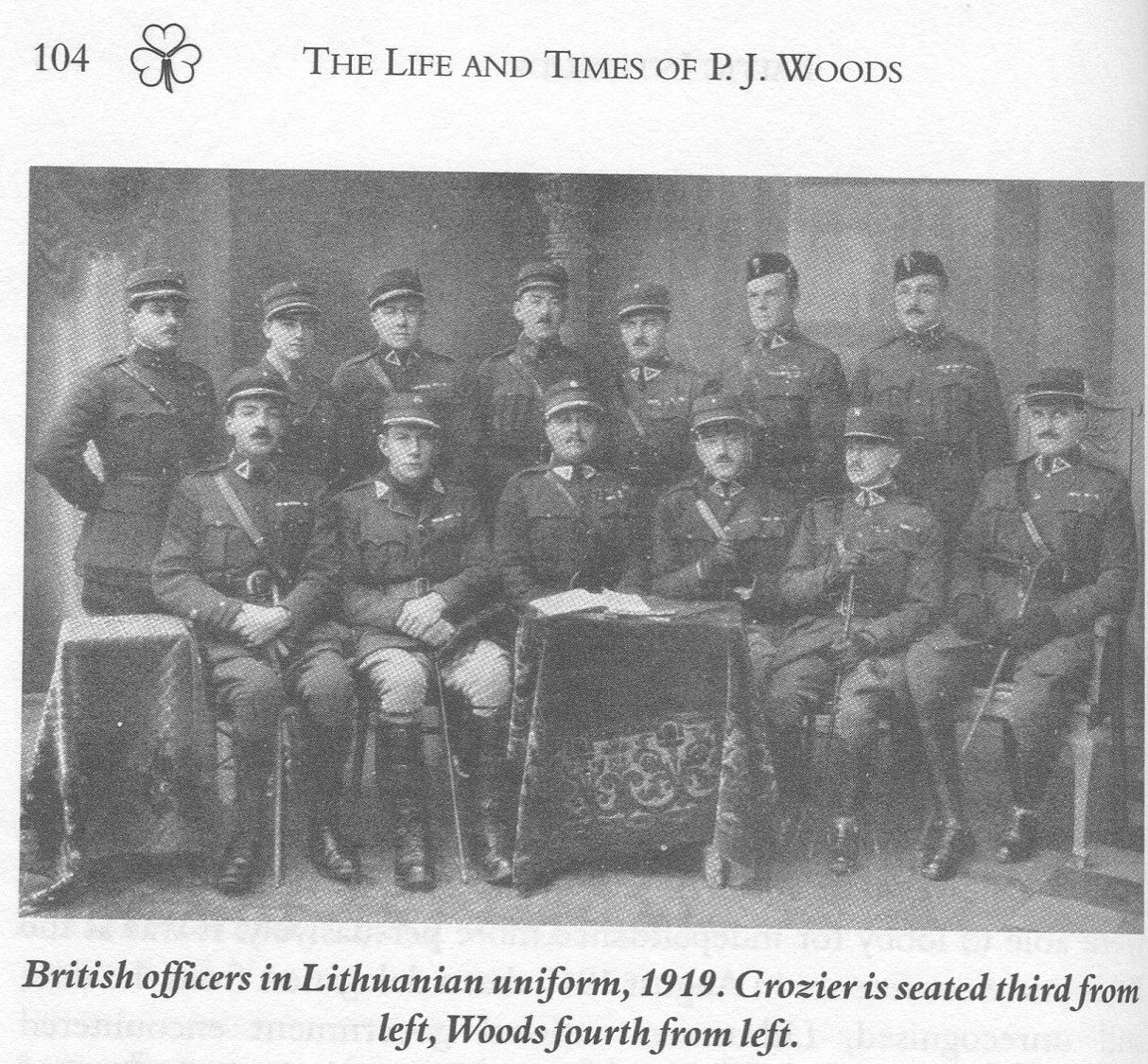 Lithuanian officers
